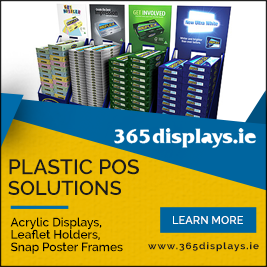 plastic pos displays